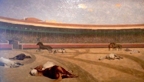 La fin de la corrida, Gérôme
