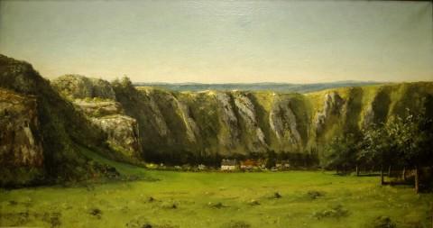 Paysages rocheux autour de Flagey 1855 Orsay