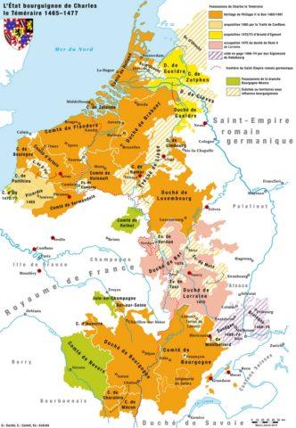 Bourgogne Charles le Téméraire
