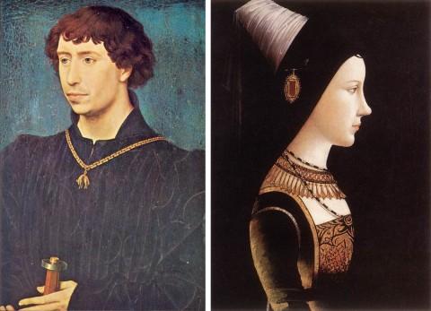 Charles le Téméraire et Marie de Bourgogne