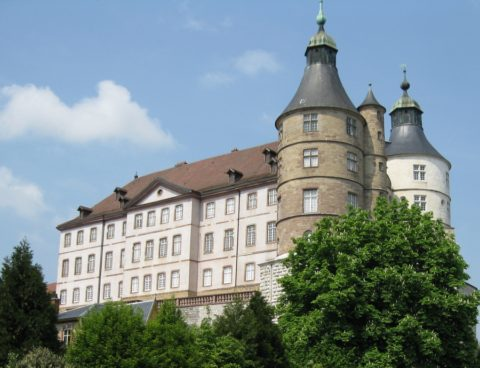château Montbéliard Wurtemberg