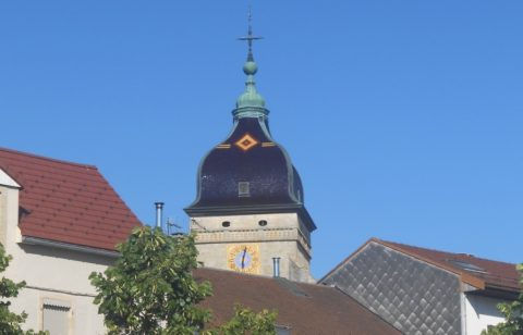 clocher comtois symbolique