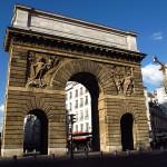 porte saint-martin à Paris