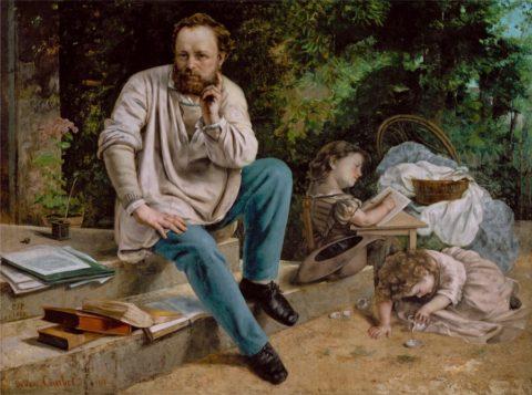 Proudhon par Courbet
