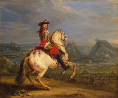 Louis XIV au siège de Besançon