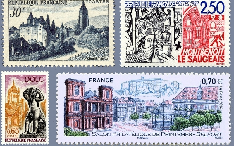 timbres Franche-Comté